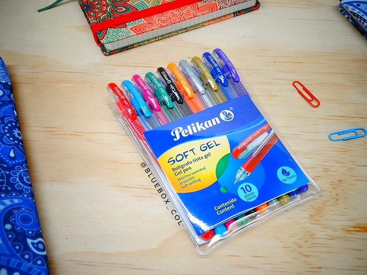 Bolígrafo SoftGel x12 Pelikan