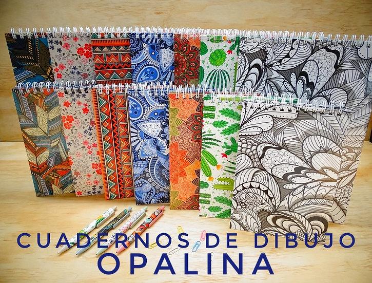 Cuaderno Opalina 220g Grande