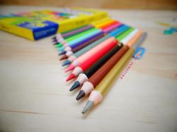 Colores doble punta