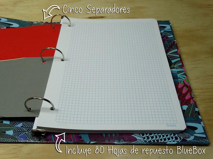 Rep. 80 Hojas Pequeñas BlueBox