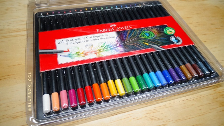 Colores FaberCastell SuperSoft x24