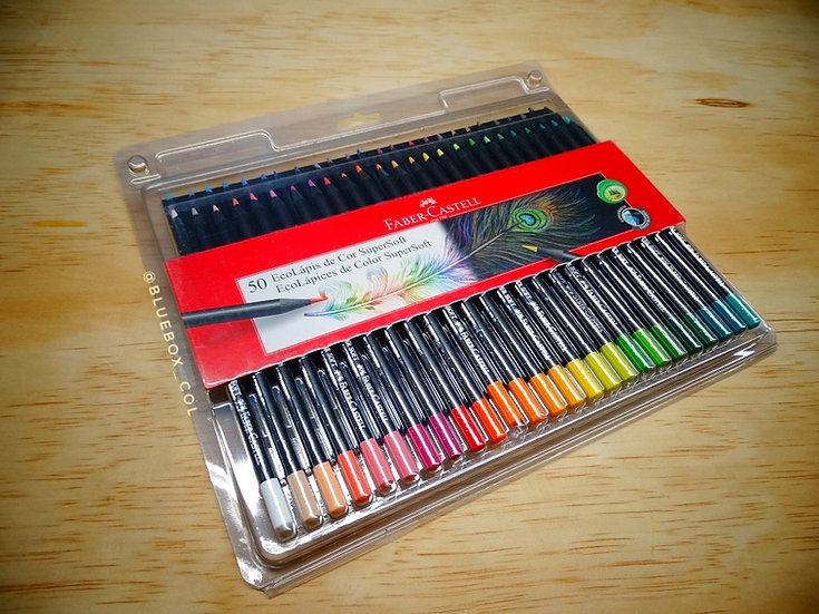 Colores FaberCastell SuperSoft x50