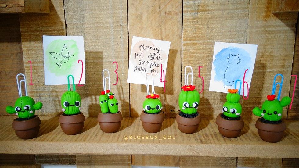 Porta Memos Recuerdame! Cactus