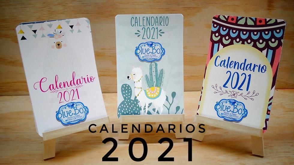 Calendarios Premium 2021