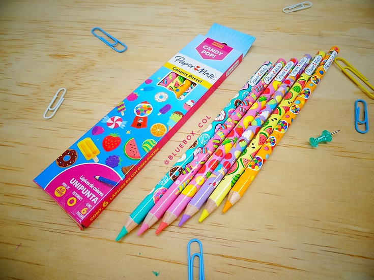 Colores Candy (Pastel) x6