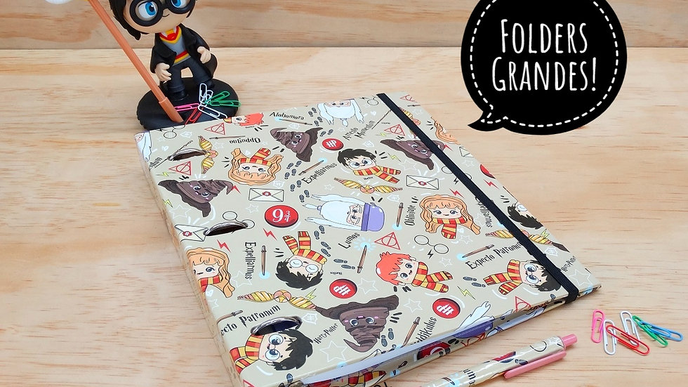 Combo Folder Grande Harry Potter