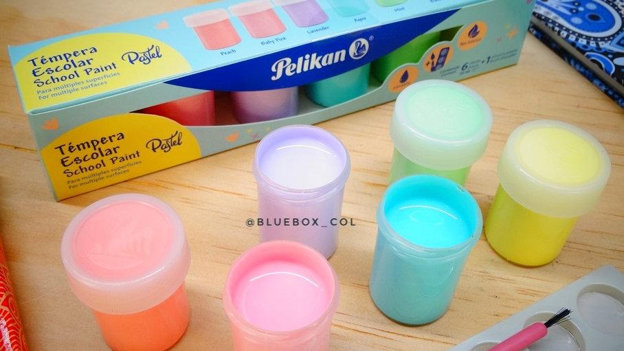 Temperas Pastel x6 Pelikan