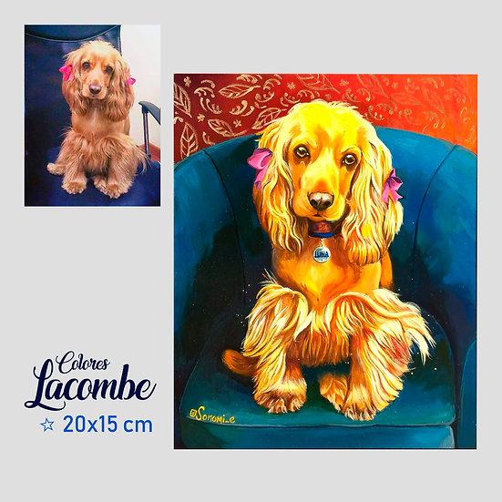 Retrato Mascota 15x20cm