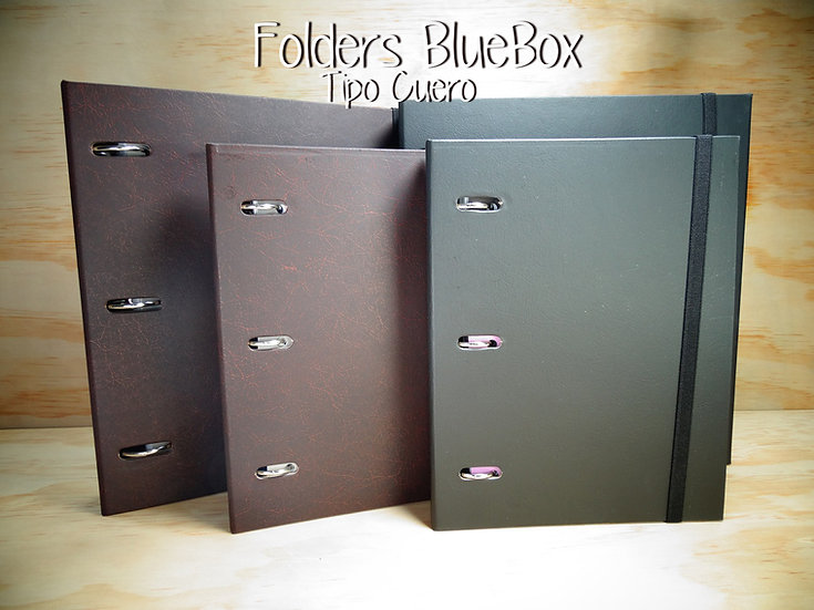 Folder Grande tipo Cuero