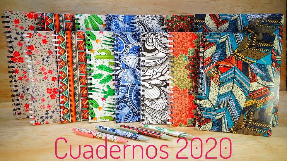 Cuaderno Grande 1M Rayado 2020