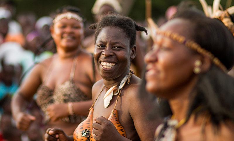 Rusinga Festival – Cultural Dance Woman (Lake Victoria)