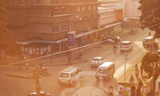Nairobi City Sun-kissed