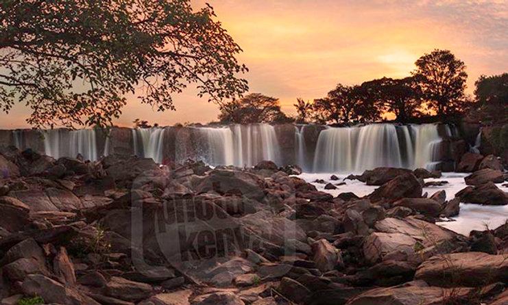 Fourteen Falls at Golden Hour