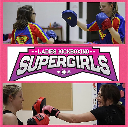 Ladies 4 Week Beginner  Kickboxing Bootcamp