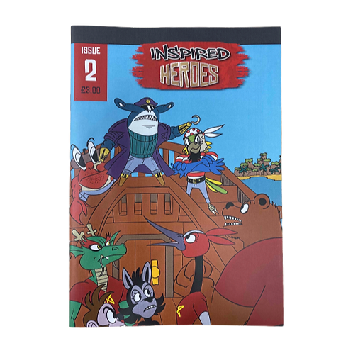 Inspired Heroes Comics
