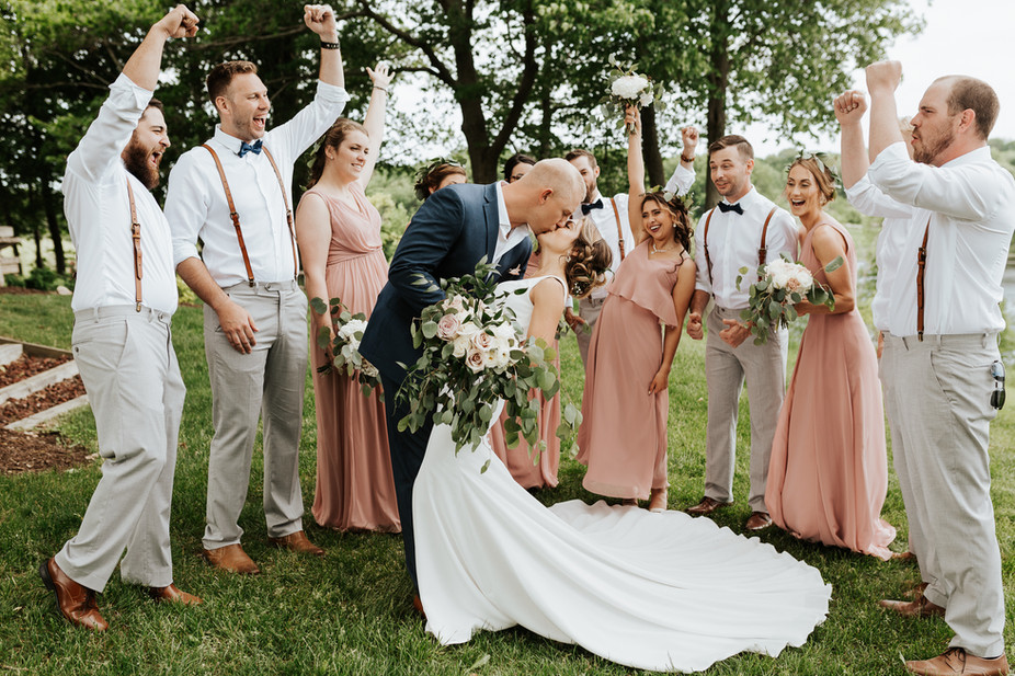 Fremont Michigan Rustic Boho Wedding