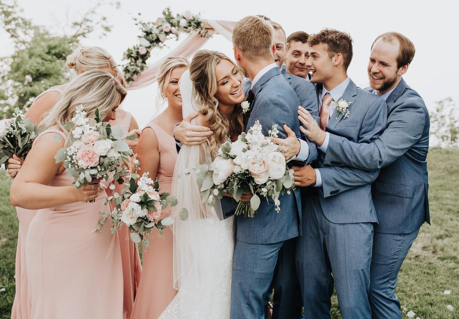 Intimate Backyard Lake Michigan Wedding