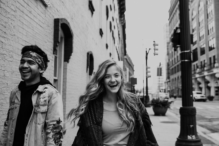 Winter Downtown Grand Rapids engagements