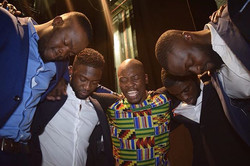 This was after the show #GodAtAllTimes #ThankingHim 🙏 cc_ _comeddiekadi
