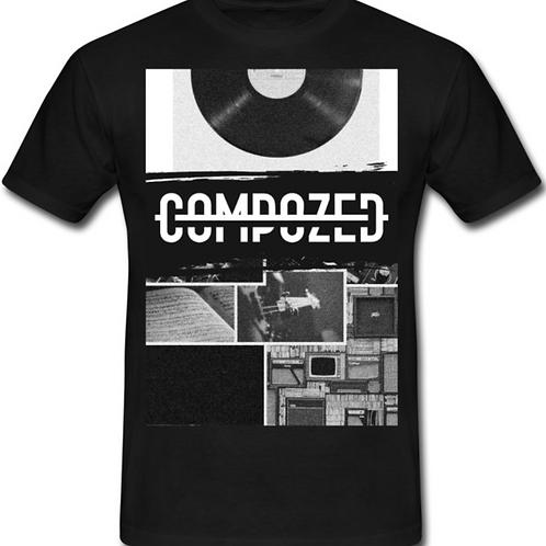 Compozed Vinyl T shirt