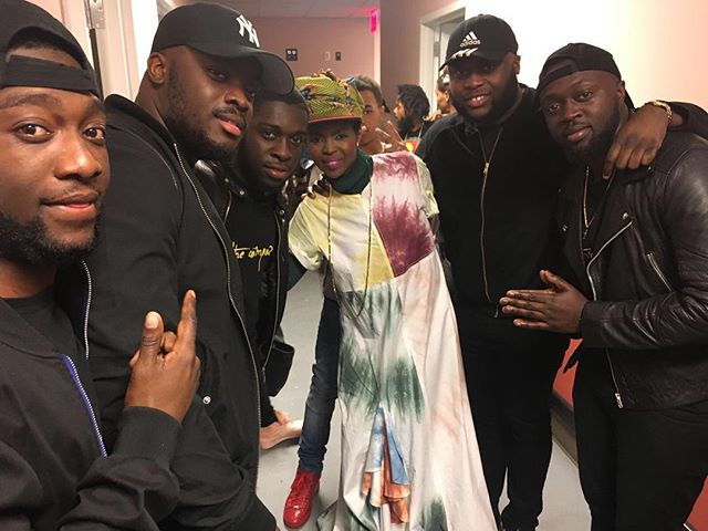 Glory to God, yesterday we had the pleasure with performing at _ms_laurynhill concert in New York at