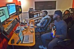 Late night studio session with the bro _benjiflow...follow him..