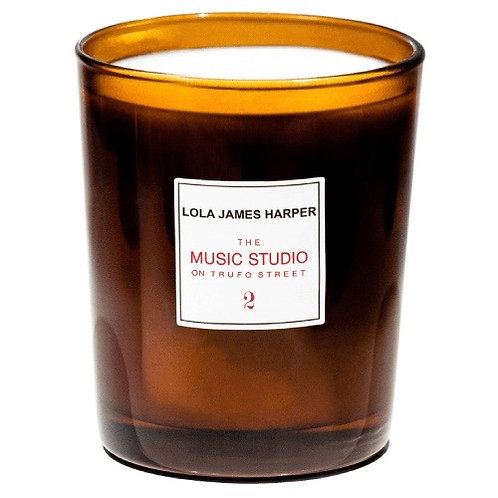 The Music Studio on Trufo St Candle 190g