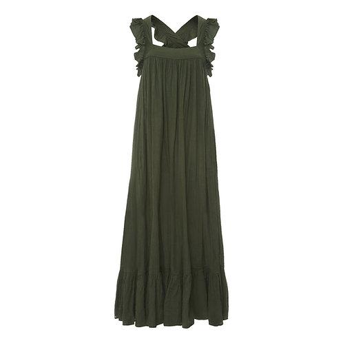 Fillette Dress Khaki Green