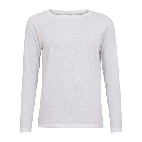 CC Heart Long Sleeve T-Shirt White