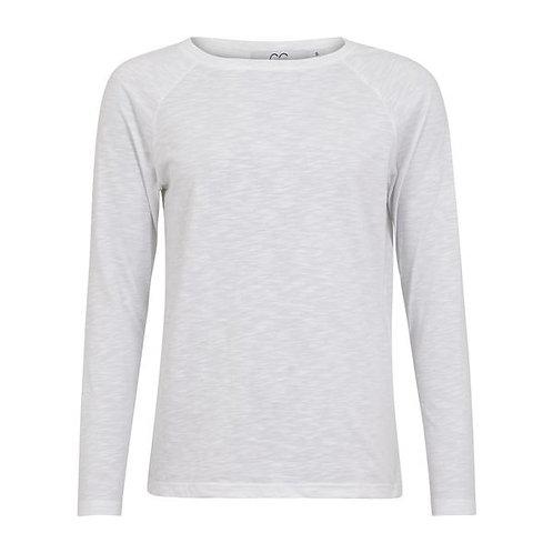 CC Heart Long Sleeve T-Shirt White