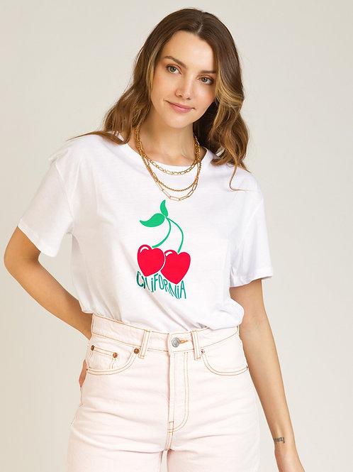 Cherries California T-shirt White