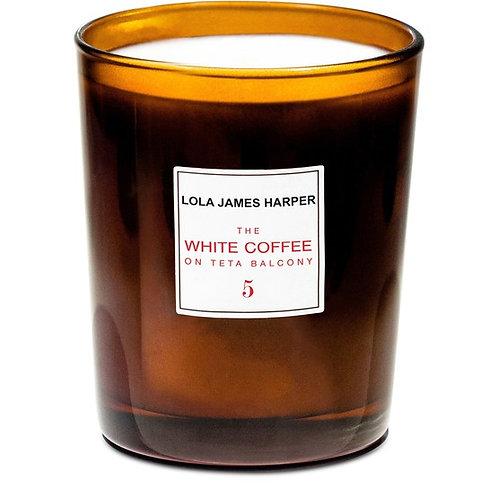 The White Coffee on Teta Balcony Candle 190g