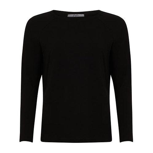 CC Heart Long Sleeve T-Shirt Black