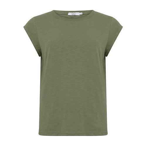 CC Heart T-Shirt Mineral Green