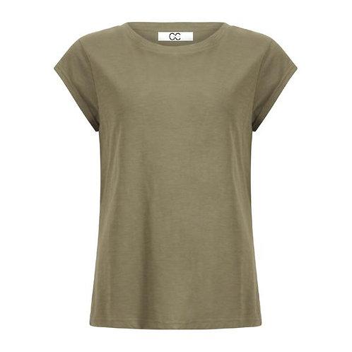 CC Heart T-Shirt Night Green