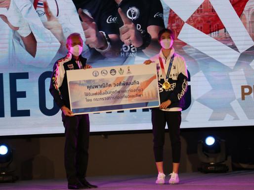 """""""เทนนิส"""" พาณิภัค วงศ์พัฒนกิจ นักกีฬาไทยคนแรก รับตำแหน่ง """"ทูตกีฬาและท่องเที่ยว"""""""