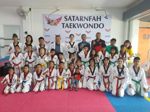 """นายกสมาคมกีฬาฯ ภูเก็ต ร่วมเปิดตัว """"ยิมสะท้านฟ้าเทควันโด"""" ปั้นเยาวชนเป็นแชมป์ประเทศไทย"""