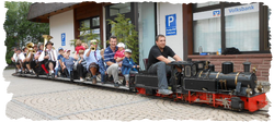 Mini-Dampfbahn