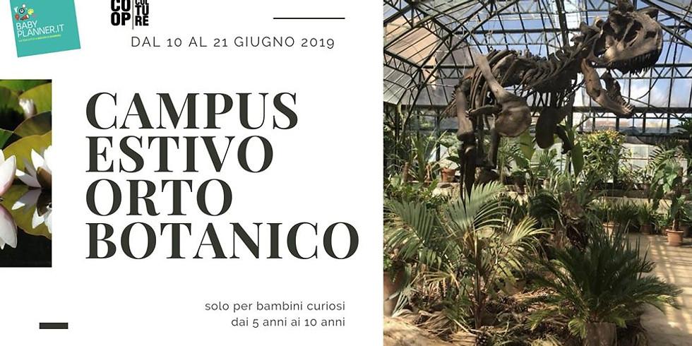 Campus Estivo Orto Botanico: presentazione