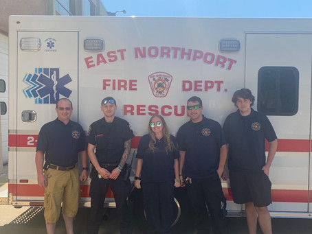 EMS Crew delivers a Baby Boy!!