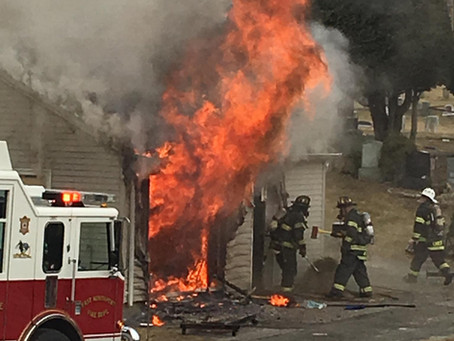 Commercial Working Fire