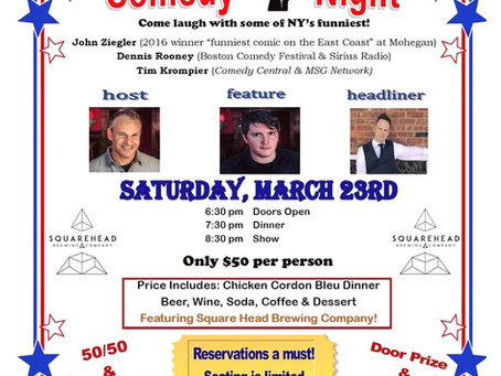 Come support our Comedy Show Fundraiser