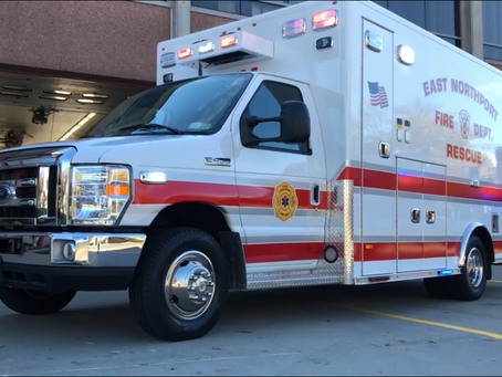 New Ambulance placed in service.