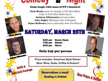 Comedy Show Fundraiser!!