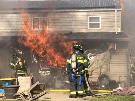 Thanksgiving Day House Fire
