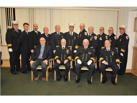 These Volunteers were recently recognized for their Service in the Military.