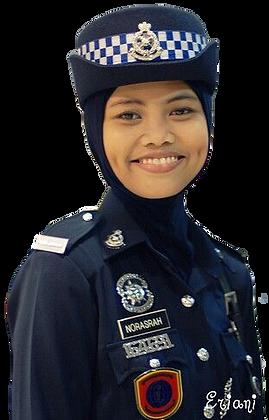 Policewoman uniform w/Hijab