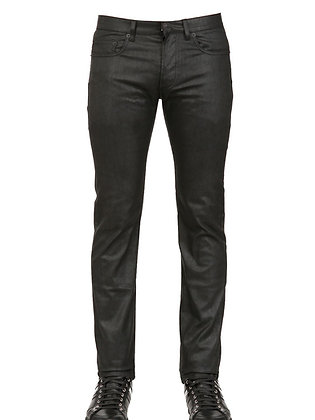 Men's Glossy Look Jeans