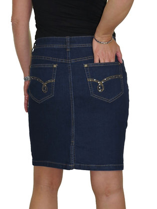 Short Denim Jean Skirt