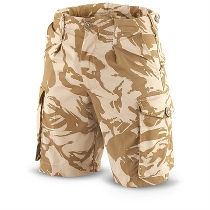 British Style Military Shorts